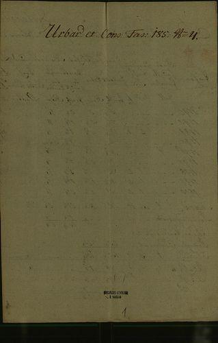HU MNL OL E 156 - a. - Fasc. 185. - No. 004.