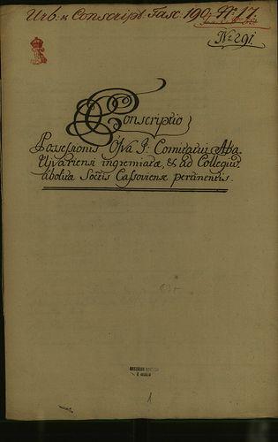HU MNL OL E 156 - a. - Fasc. 190. - No. 017.