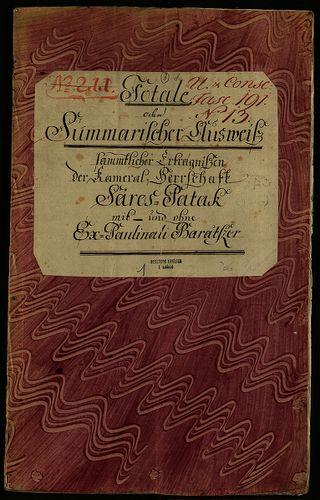HU MNL OL E 156 - a. - Fasc. 191. - No. 013.