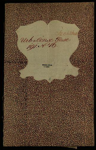 HU MNL OL E 156 - a. - Fasc. 191. - No. 016.