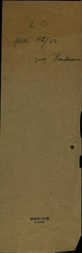 HU MNL OL E 156 - a. - Fasc. 195. - No. 027.