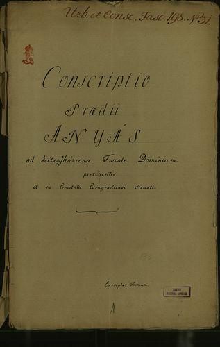 HU MNL OL E 156 - a. - Fasc. 198. - No. 031.