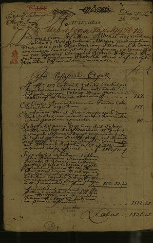 HU MNL OL E 156 - a. - Fasc. 199. - No. 012.