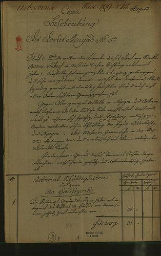 HU MNL OL E 156 - a. - Fasc. 199. - No. 015.