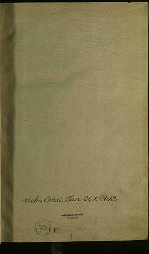 HU MNL OL E 156 - a. - Fasc. 207. - No. 012.