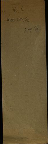 HU MNL OL E 156 - a. - Fasc. 210. - No. 012.