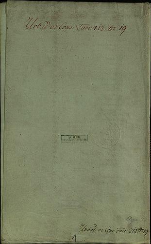 HU MNL OL E 156 - a. - Fasc. 212. - No. 019.