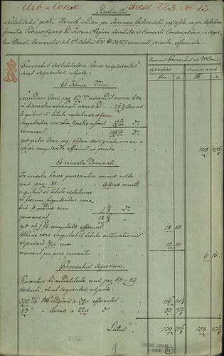 HU MNL OL E 156 - a. - Fasc. 223. - No. 013.