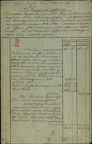 HU MNL OL E 156 - a. - Fasc. 223. - No. 014.