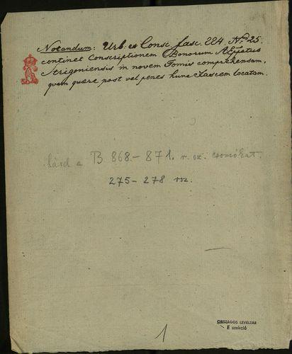 HU MNL OL E 156 - a. - Fasc. 224. - No. 025 / c.