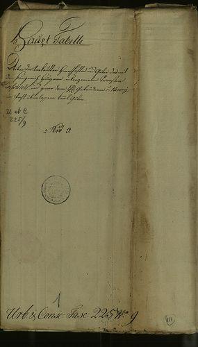 HU MNL OL E 156 - a. - Fasc. 225. - No. 009.