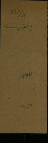 HU MNL OL E 156 - a. - Fasc. 235. - No. 019.