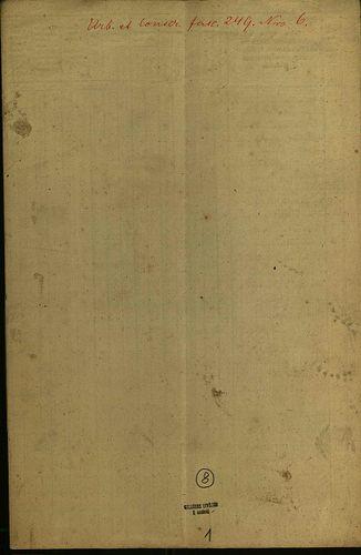 HU MNL OL E 156 - a. - Fasc. 249. - No. 006.