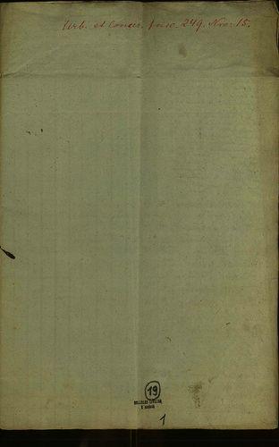 HU MNL OL E 156 - a. - Fasc. 249. - No. 015.