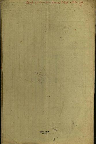 HU MNL OL E 156 - a. - Fasc. 249. - No. 019.